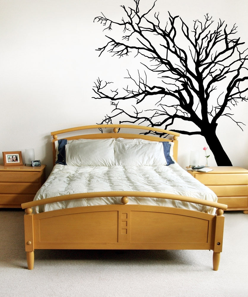 Vinyl Wall Decal Sticker Creepy Tree #OS_MB620