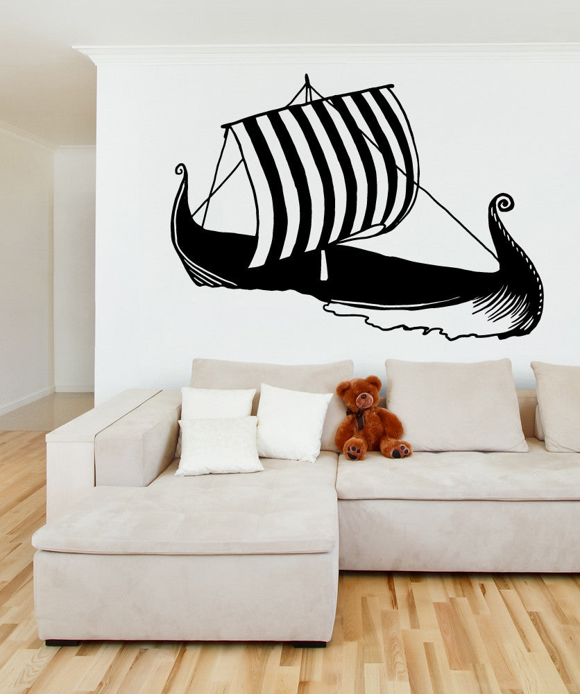 Vinyl Wall Decal Sticker Gondola #OS_MB624