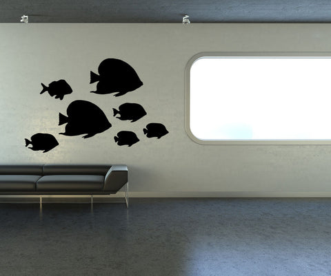 Vinyl Wall Decal Sticker Tropical Fish #OS_MB633