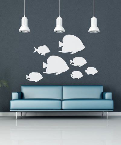 Vinyl Wall Decal Sticker Tropical Fish Os Mb633