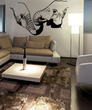 Vinyl Wall Decal Sticker Elephant Love #OS_MB683