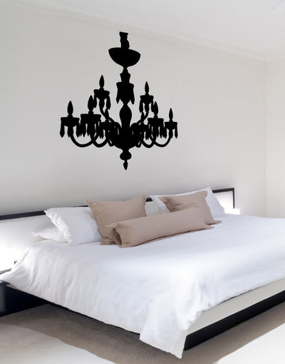 Vinyl Wall Decal Sticker Chandelier #OS_MB705 & Vinyl Wall Decal Sticker Pretty Chandelier #OS_MB708
