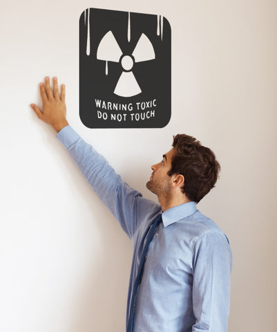 Vinyl Wall Decal Sticker Toxic #OS_MB711