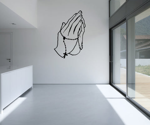 Vinyl Wall Decal Sticker Pray #OS_MB728