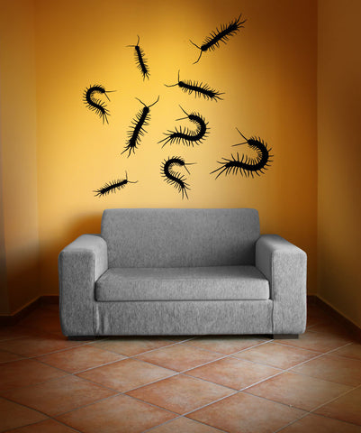 Vinyl Wall Decal Sticker Creepy Crawlers #OS_MB732