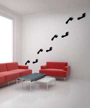 Vinyl Wall Decal Sticker Footprints #OS_MB740