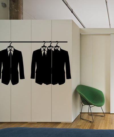 Vinyl Wall Decal Sticker Suit Up #OS_MB744