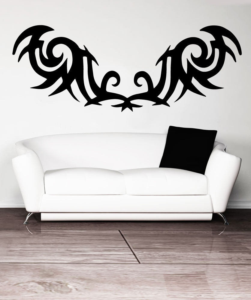 Vinyl Wall Decal Sticker Tribal Tattoo #OS_MB750