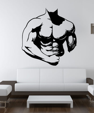 Vinyl Wall Decal Sticker Ripped #OS_MB762