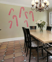 Vinyl Wall Decal Sticker Candy Canes #OS_MB769