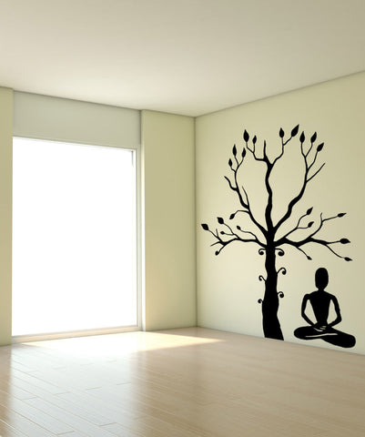 Vinyl Wall Decal Sticker One With Nature #OS_MB801