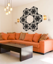 Vinyl Wall Decal Sticker Geometric Ring #OS_MB803