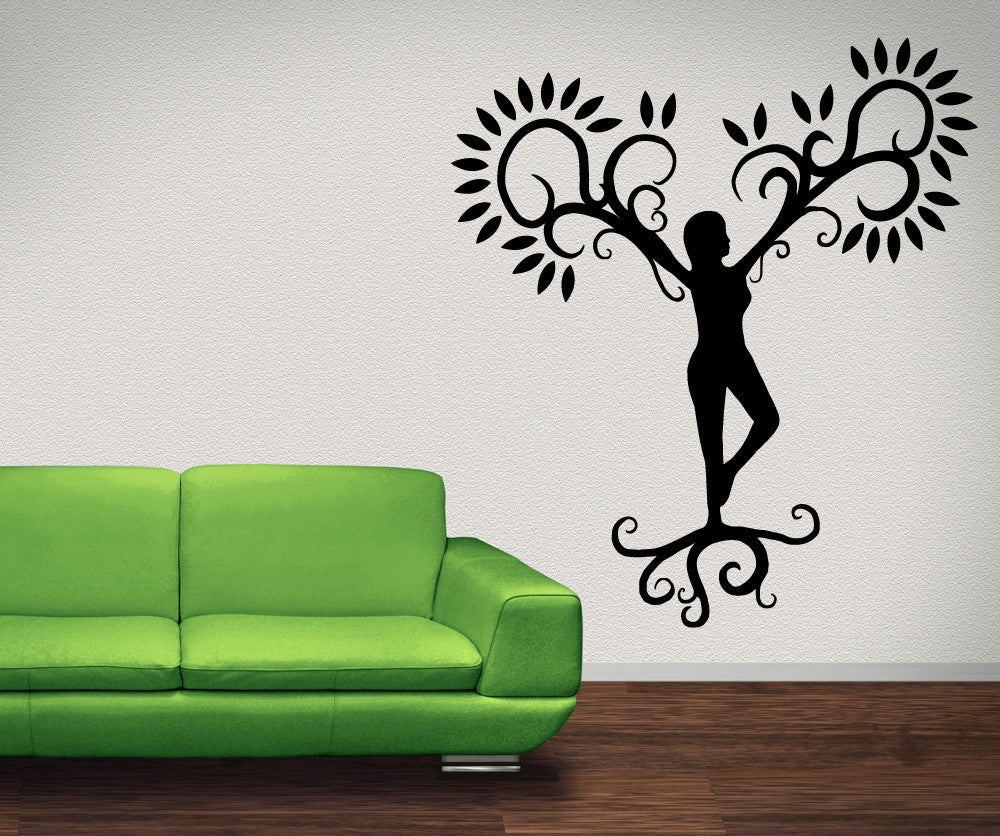 Vinyl Wall Decal Sticker Mother Nature OSMB - Wall decals nature
