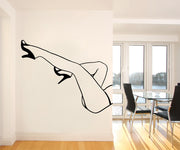 Vinyl Wall Decal Sticker Sexy Legs #OS_MB807