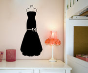 Vinyl Wall Decal Sticker Prom Dress #OS_MB829