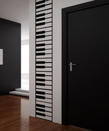 Vinyl Wall Decal Sticker Piano Keys #OS_MB887