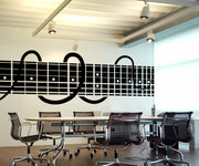 Vinyl Wall Decal Sticker Decorative Guitar Chords #OS_MB889