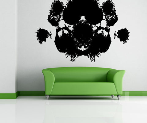 Vinyl Wall Decal Sticker Ink Blot #OS_MB890