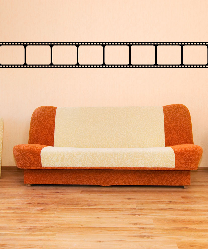 Film Strip Wall Decal | Film Strip Wall Art | StickerBrand
