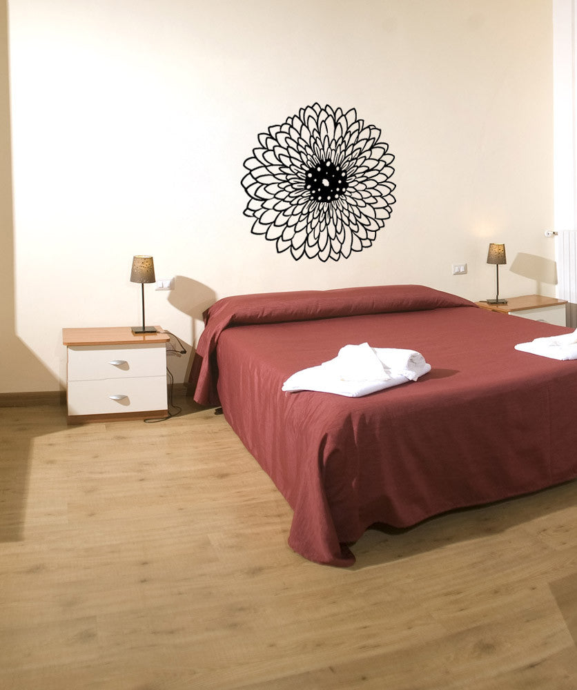 Vinyl Wall Decal Sticker Wildflower #OS_MB932