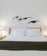 Vinyl Wall Decal Sticker Flying Seagulls #OS_MB933
