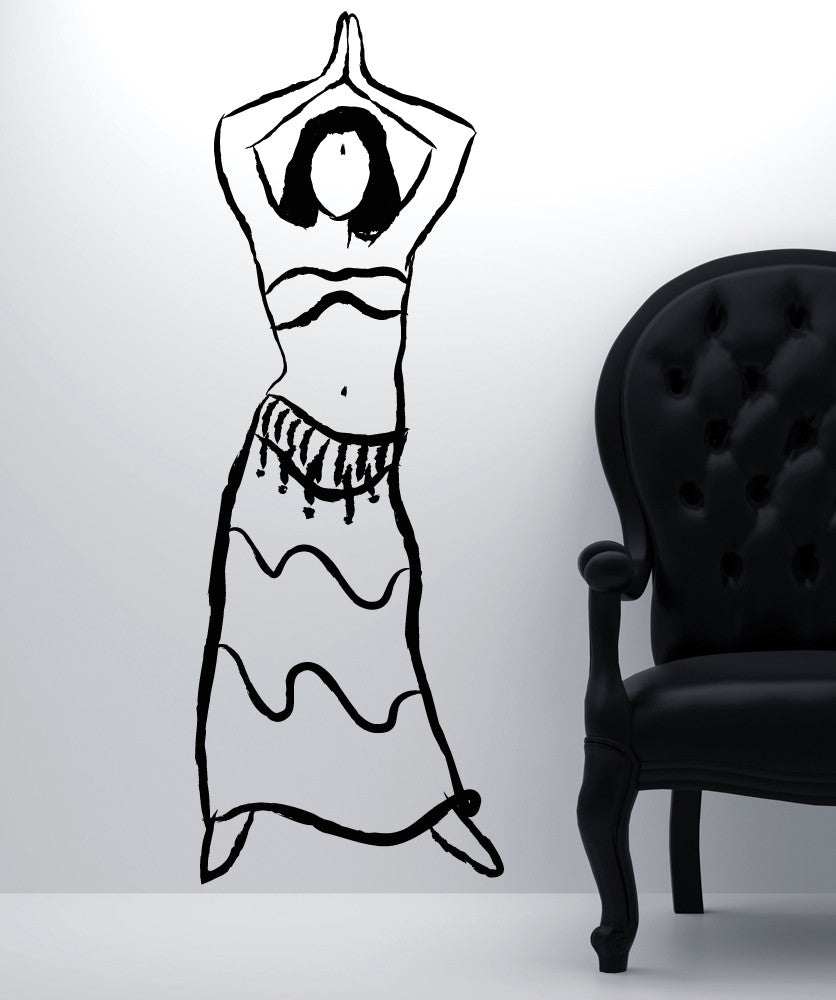 Vinyl Wall Decal Sticker Belly Dancer #OS_MB959