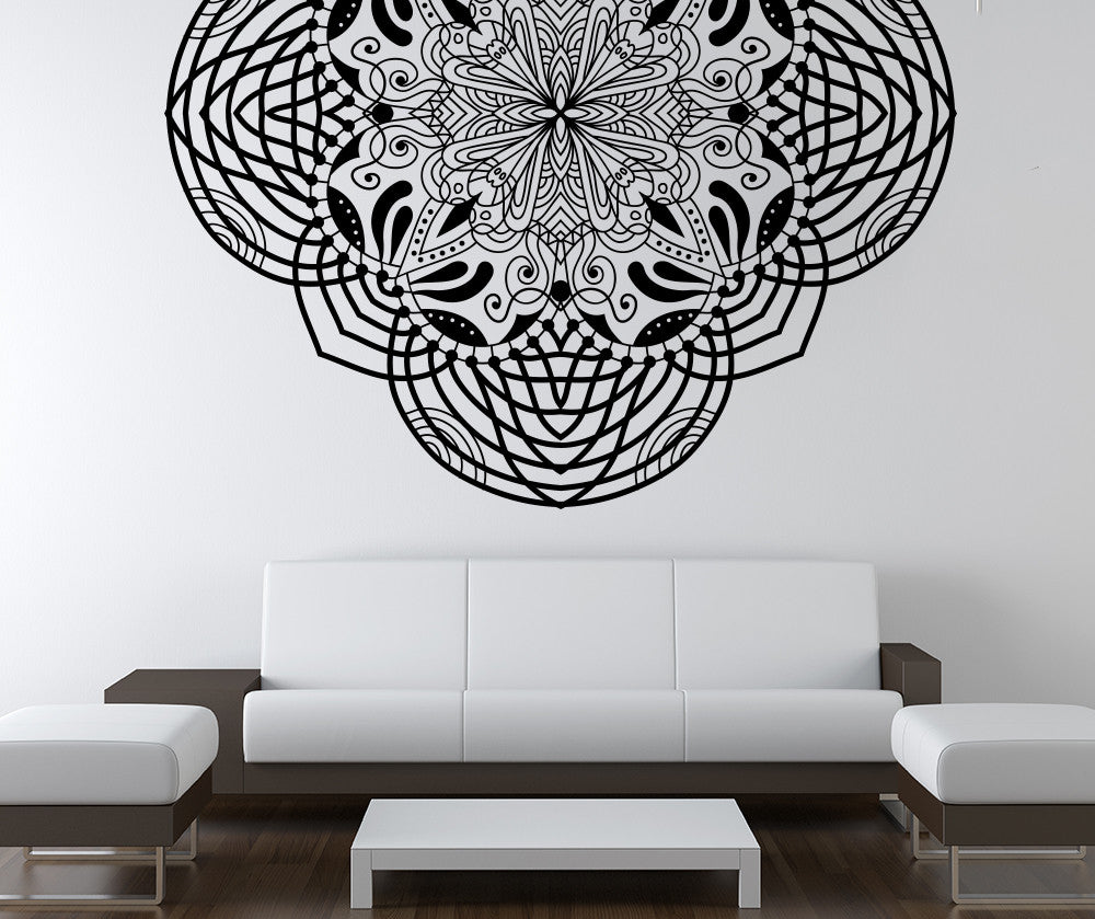Vinyl Wall Decal Sticker Abstract Moroccan Art OSMB - Vinyl wall decals abstract
