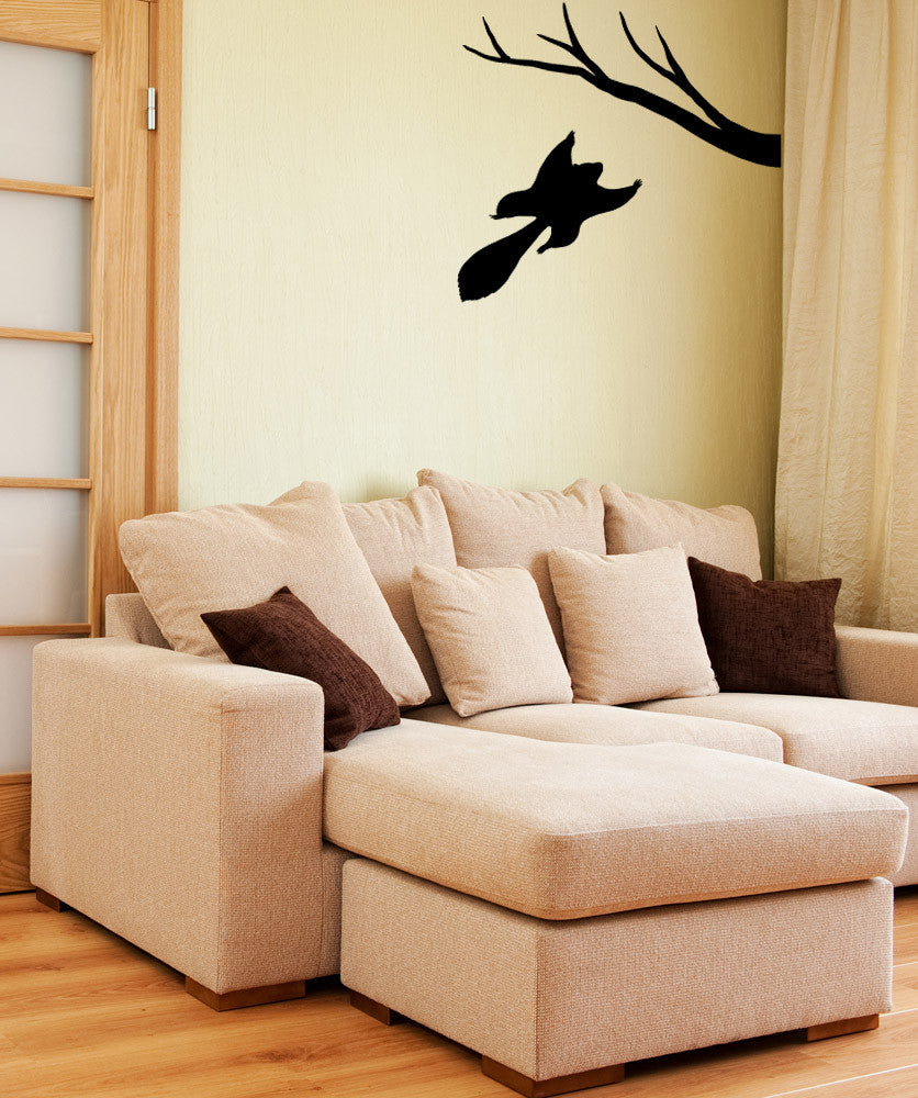 Vinyl Wall Decal Sticker Flying Squirrel #OS_MB974