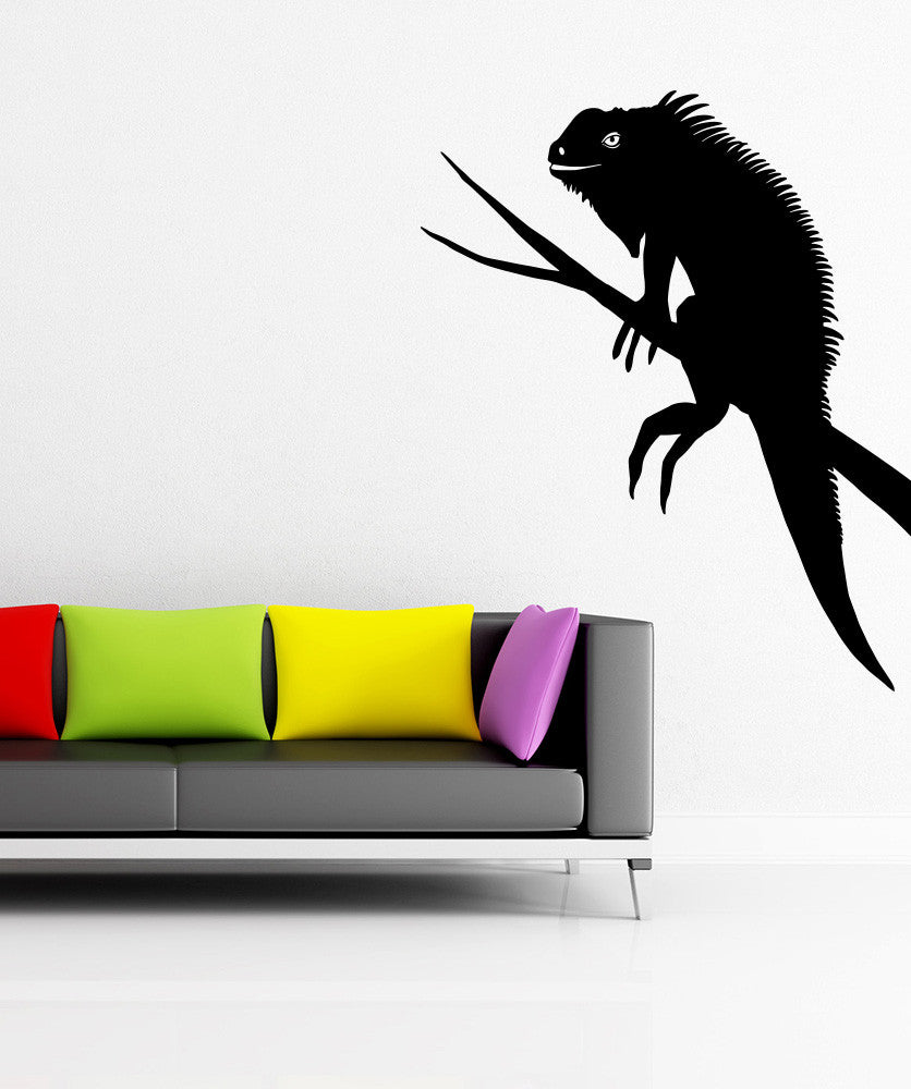 Vinyl Wall Decal Sticker Iguana #OS_MB981