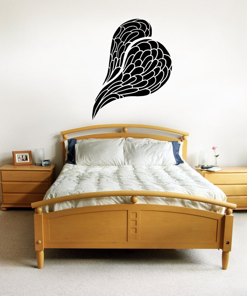 Vinyl Wall Decal Sticker Wings #OS_MB984