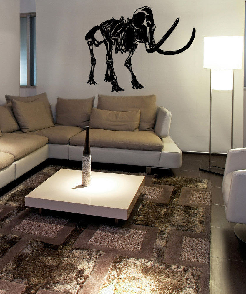 Vinyl Wall Decal Sticker Mammoth Fossil #OS_MB988