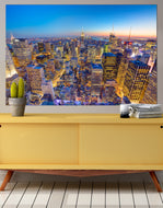 New York City Manhattan Skyscraper Skyline Photo Print. #P1019