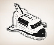 Vinyl Wall Decal Sticker Space Shuttle #OS_AA203