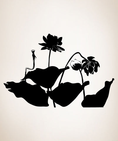 Vinyl Wall Decal Sticker Lotus #AC213