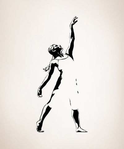 Vinyl Wall Decal Sticker Optical Illusion Dancer #AC217