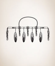 Vinyl Wall Decal Sticker Native American Decoration #OS_DC297