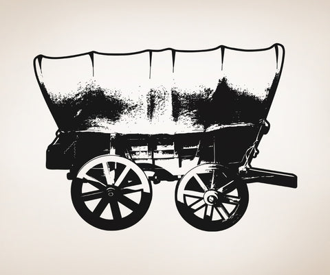 Vinyl Wall Decal Sticker Chuck Wagon #OS_AA515
