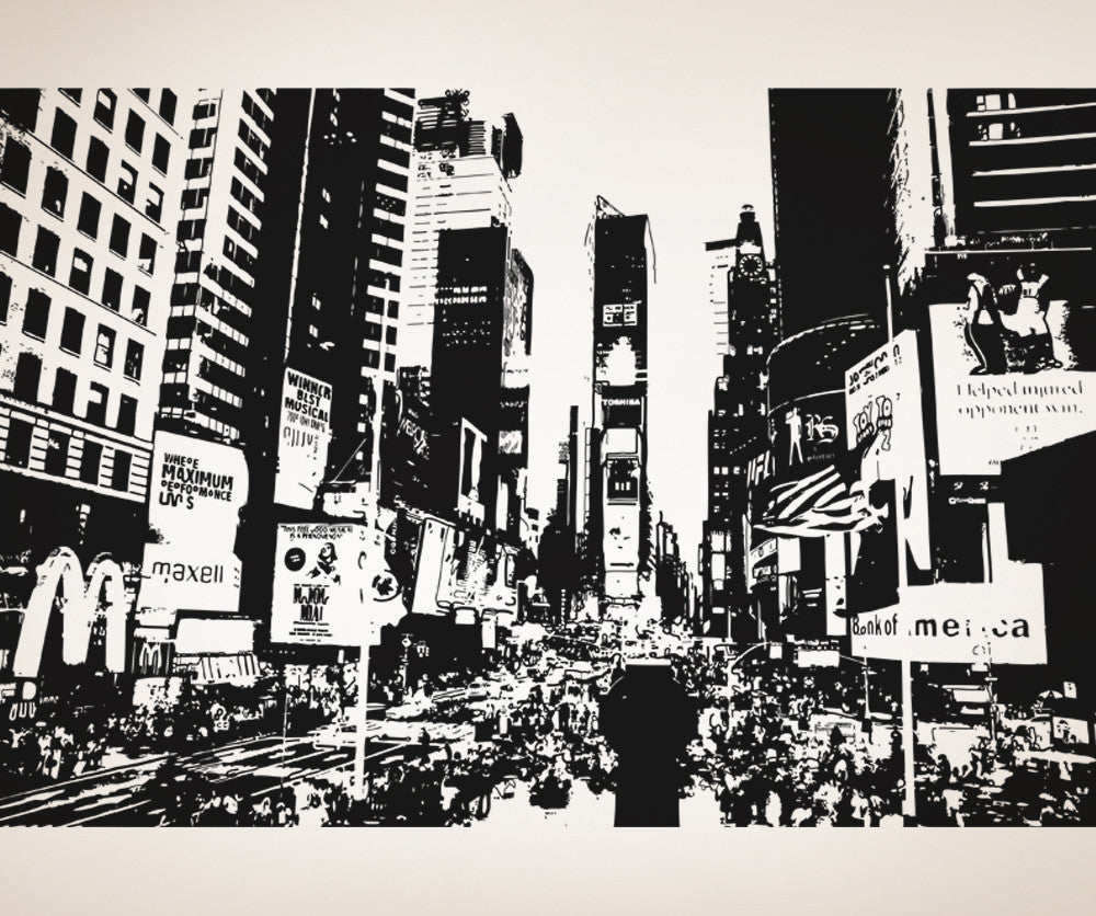 vinyl wall decal sticker ny times square os aa557