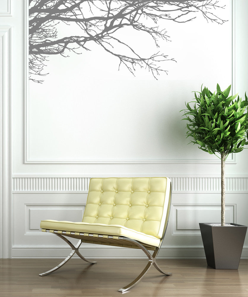 Tree branch wall decal tree branch stickers for walls vinyl wall decal sticker tree top branches 444 amipublicfo Gallery