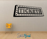Vinyl Wall Decal Sticker Tickets #OS_MB191