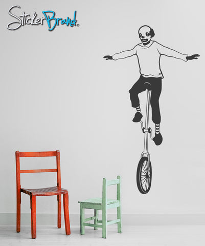 Vinyl Wall Decal Sticker Unicycle #OS_MB197