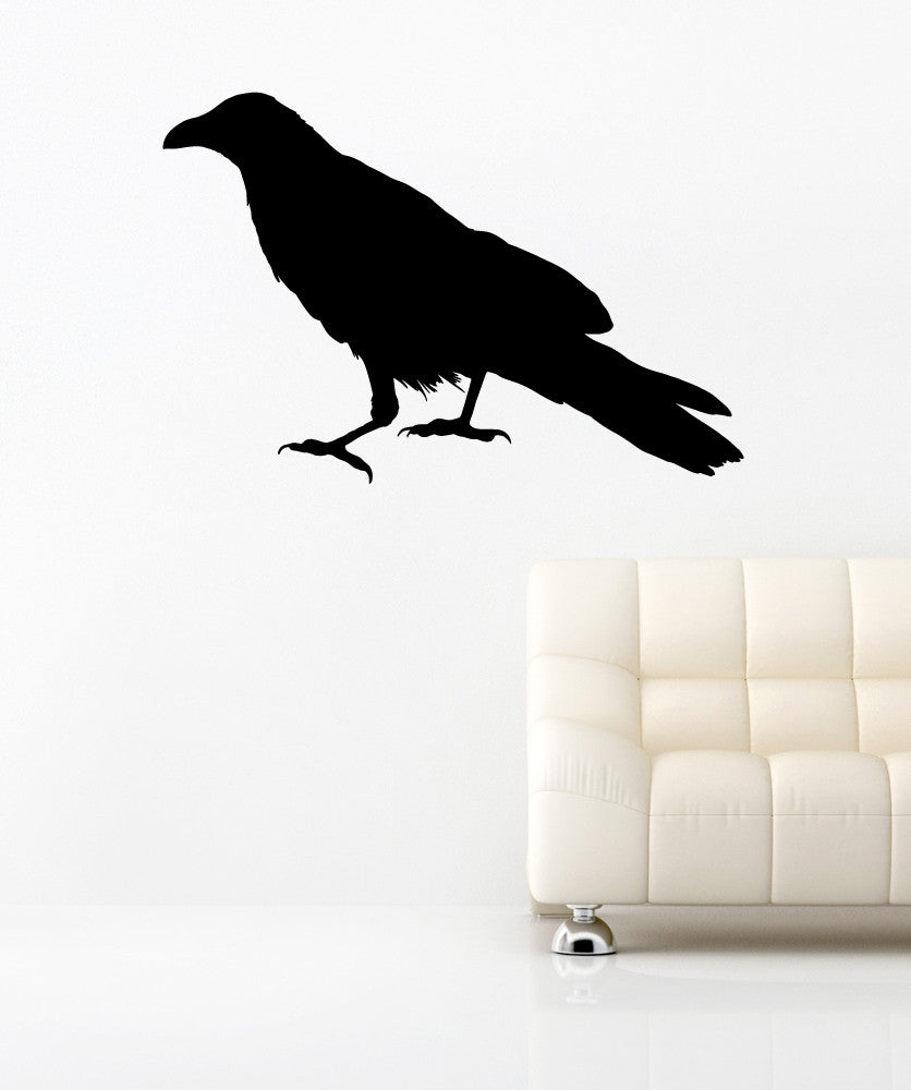 Vinyl Wall Decal Sticker Raven #OS_MB645
