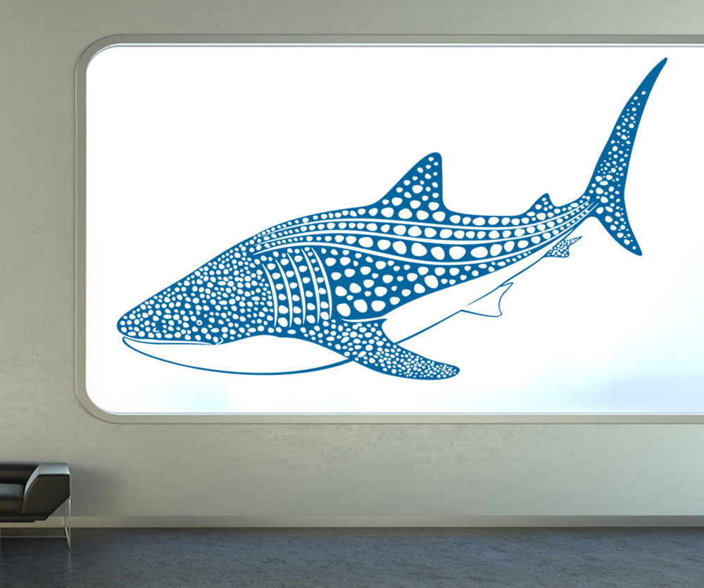 Vinyl Wall Decal Sticker Whale Shark #OS_ES109 Part 61