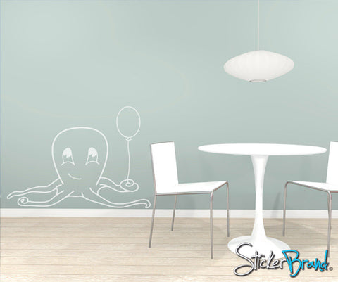 Vinyl  Wall Decal Baby Octopus #AFord101