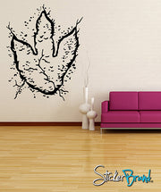 Vinyl Wall Decal Sticker Baby Dino Footprint #KRiley111