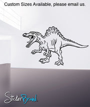 Vinyl Wall Decal Sticker Dinosaur Attack #KRiley110
