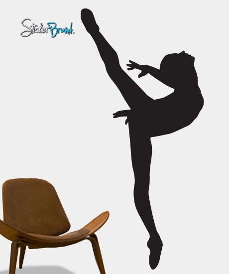 Vinyl Wall Decal Sticker Ballerina Dancer Ballet Girl #208