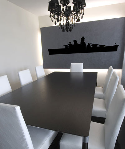 Vinyl Wall Decal Sticker Battle Ship #OS_MG152