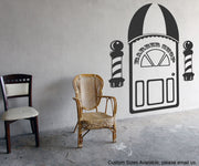 Vinyl Wall Decal Sticker Barber Shop Item #OS_MG107