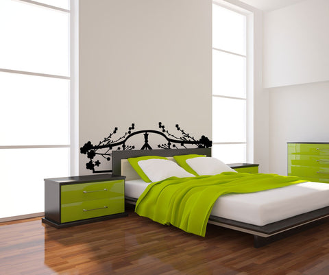 Vinyl Wall Decal Sticker Bed Frame #OS_MG155